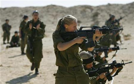 Israeli women soldiers recount army trauma in film